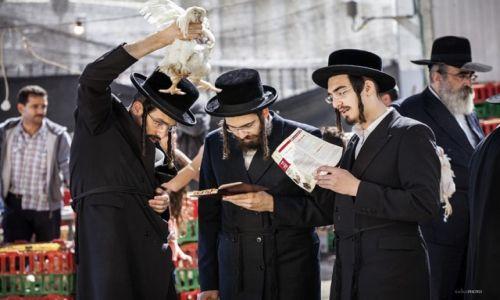 Zdjecie IZRAEL / Jerozolima / Mahane Yehuda bazar / Kaparot