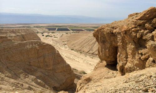 IZRAEL / Morze martwe / Qumran / Trekking w Qumran