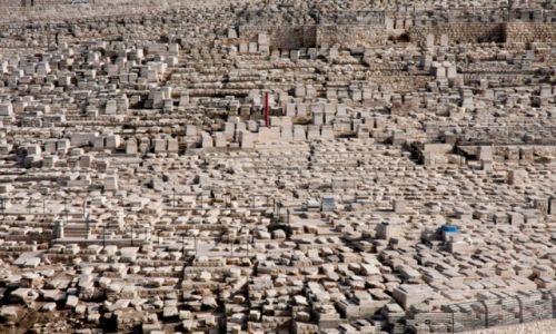 IZRAEL / Jerozolima / Góra Oliwna / cmentarz