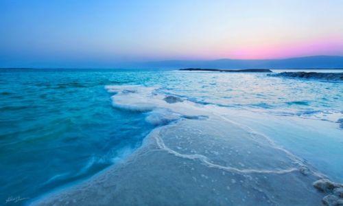 Zdjecie IZRAEL / Morze Martwe / Morze Martwe / wschód słonca