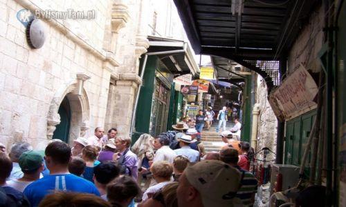 IZRAEL / Jerozolima / Jerozolima / Jerozolima - uliczki starego miasta