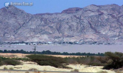 Zdjęcie IZRAEL / Eljat / Eljat / Jordania od strony Izraela