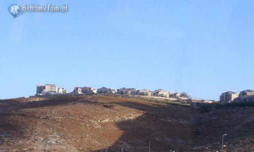 IZRAEL / Izrael / okolice Jerozolimy / Osiedla żydowskie w okolicy Jerozolimy