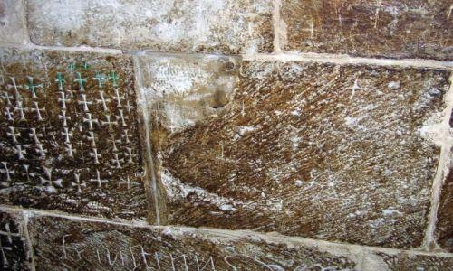 Zdjecie IZRAEL / - / Bazylika Narodzenia, Betlejem / Znaki pielgrzym