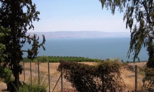 Zdjecie IZRAEL / - / Kafarnaum / Jezioro Genezar