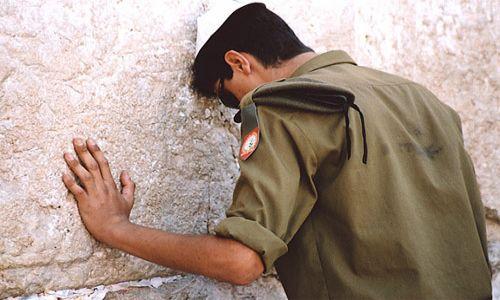 Zdjecie IZRAEL / brak / Jerozolima / Ludzie Wielkiej Ściany