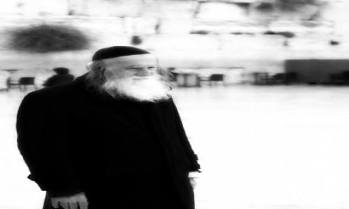 Zdjecie IZRAEL / Jerozolima / sciana / broda
