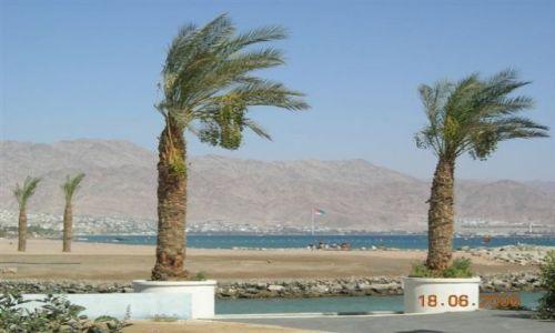 Zdjecie IZRAEL / brak / Eljat / Plaża egipsko-izraelsko-jordańska