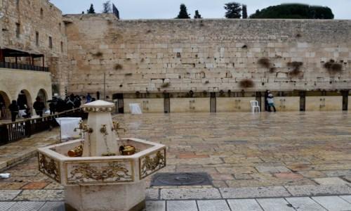 Zdjecie IZRAEL / pomi�dzy Wzg�rzami Jerozolimskimi / Jerozolima / W pobli�u �cian