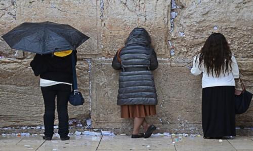 Zdjecie IZRAEL / pomi�dzy Wzg�rzami Jerozolimskimi / Jerozolima / Pod �cian� P�ac