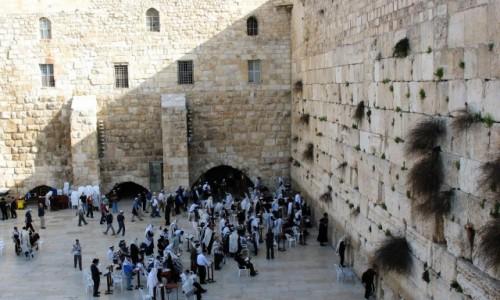 IZRAEL / Jerozolima / Ściana Płaczu / Mury Jerozolimy