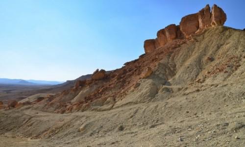 Zdjecie IZRAEL / Pustynia Negew / Maktesz Ramon / barwy ziemi 3