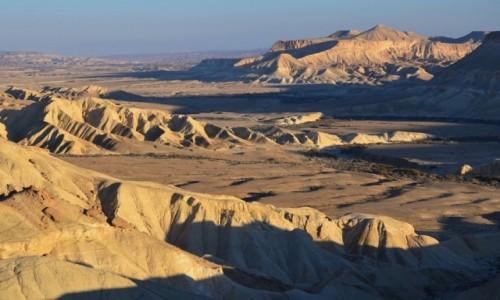 IZRAEL / Pustynia Negew / Midreszet Ben Gurion / dolina