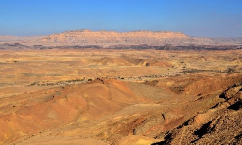IZRAEL / Pustynia Negew / Maktesz Ramon / i nie ma tu nic...