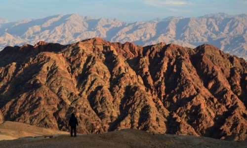 IZRAEL / Góry Eilatu / Mt.Yo'ash / koniec dnia...