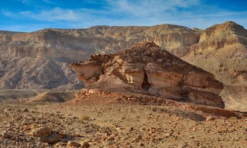 Zdjecie IZRAEL / Pustynia Negew / Timna Park / erozja...