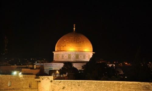Zdjecie IZRAEL / Jerozolima / Kopuła na skale / Złota kopuła
