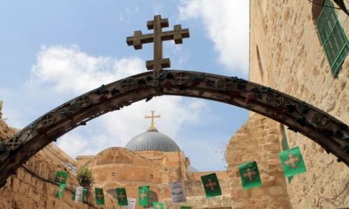 IZRAEL / Jerozolima / Bazylika Grobu Pańskiego / Ziemia Święta