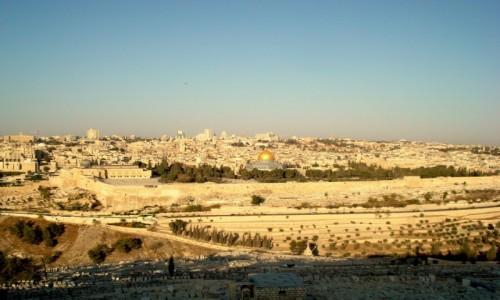 Zdjecie IZRAEL / xxx / Jerozolima / Panorama Jerozolimy