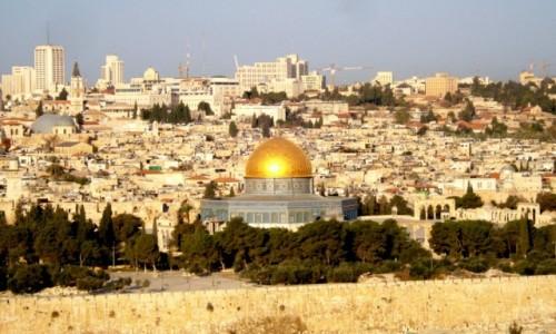 Zdjecie IZRAEL / xxx / Jerozolima / Panorama