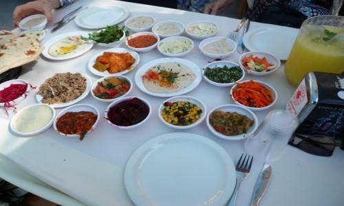 Zdjecie IZRAEL / Równina Szaron / Jafa / tahini, hummus, cudowności i sałatki