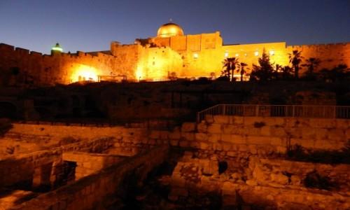 Zdjecie IZRAEL / . / . / Jerozolima_wieczor