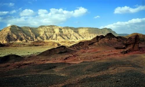 Zdjecie IZRAEL / Eilat / Timna Park / Kolorowe skały