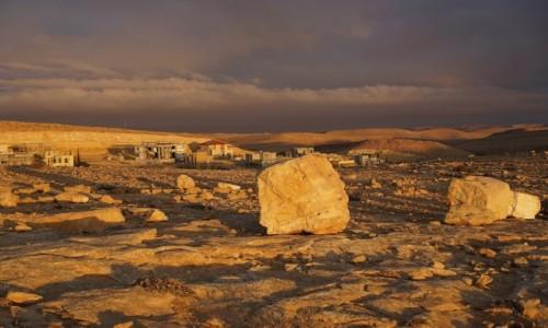 Zdjęcie IZRAEL / Pustynia Negew / Mitzpe Ramon / O wschodzie
