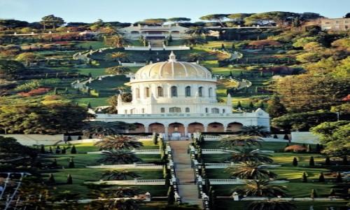 Zdjęcie IZRAEL / Haifa / . / Ogrody Bahai