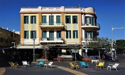 Zdjęcie IZRAEL / Tel Aviv / Białe Miasto / W  stylu Bauhaus