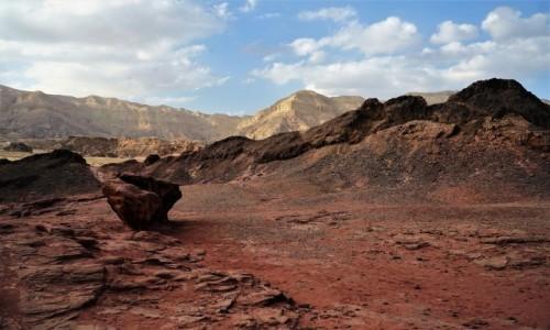Zdjęcie IZRAEL / Eilat / Timna Park / Barwy pustyni