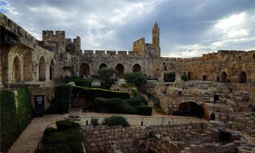 Zdjęcie IZRAEL / Jerozolima / . / Cytadela Dawida