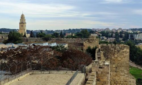 Zdjęcie IZRAEL / Jerozolima / . / Mury Starego Miasta