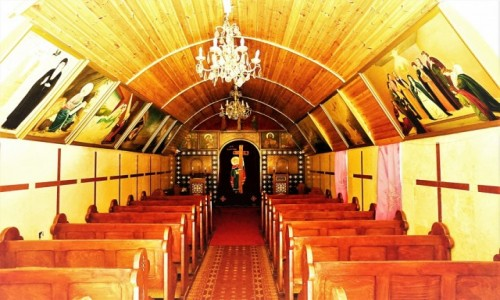 Zdjęcie IZRAEL / Jerozolima / Koptyjski zespół klasztorny z  XVI w. / Kaplica p.w. Królowej Heleny