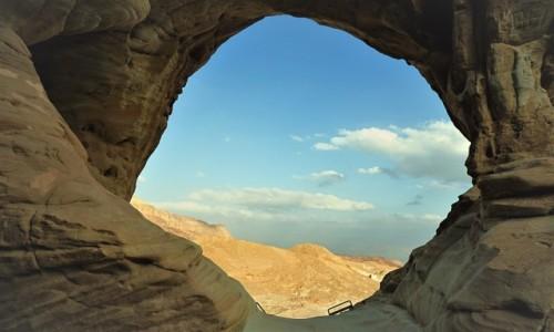 Zdjęcie IZRAEL / Pustynia Negew / Timna Park / Okno z widokiem