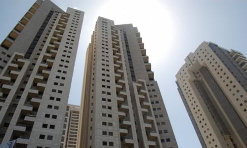 IZRAEL / Izrael / Tel Aviv / apartamentowce w Tel Avivie