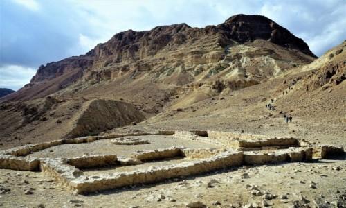 Zdjęcie IZRAEL / Morze Martwe / Ein Gedi / Ruiny świątyni