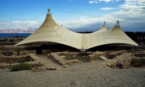 IZRAEL / Morze Martwe / Ein Gedi / Stanowisko archeologiczne
