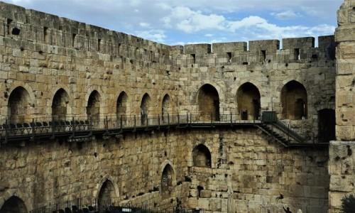 Zdjęcie IZRAEL / Jerozolima / Cytadela Dawida / Mury