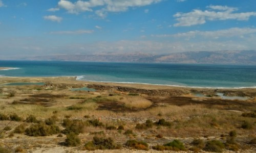Zdjęcie IZRAEL / Palestyna / kalya / morze martwe poniżej 400 od poziomu morza