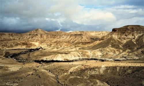 Zdjęcie IZRAEL / Pustynia Negew / Park Narodowy Avdat / Sucha rzeka