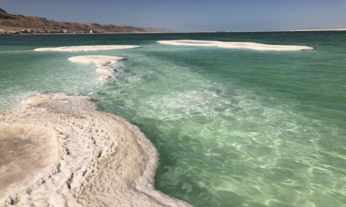Zdjecie IZRAEL / ..morze martwe.. / Ein Bokek / ..sól..