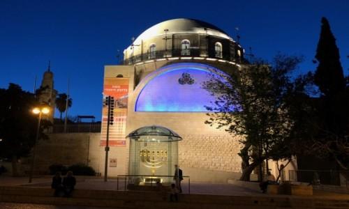 Zdjecie IZRAEL / Jerozolima / Jerozolima / ..synagoga..