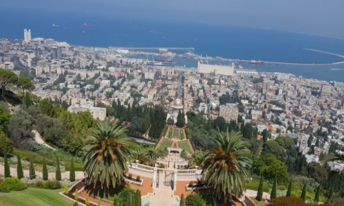 Zdjecie IZRAEL / Hajfa  / Bahia gardens / Ogrody