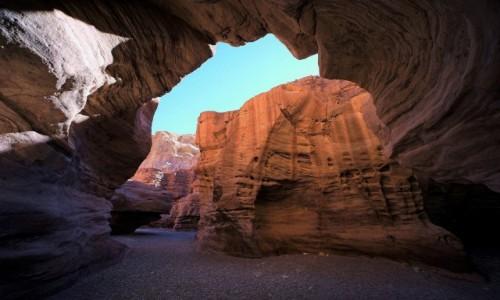 Zdjecie IZRAEL / Eliat / Czerwony Kanion / W skalnym labiryncie