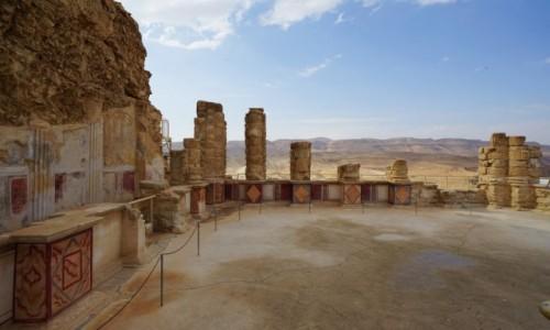 Zdjecie IZRAEL / Morze Martwe / Masada  / Ruiny pałacu
