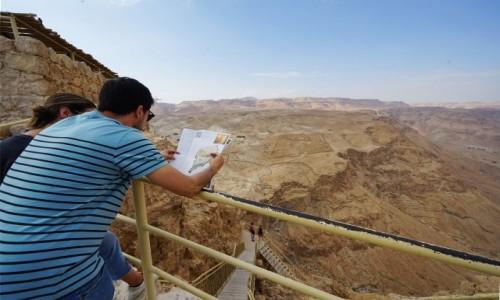 Zdjecie IZRAEL / Morze Martwe / Masada  / Ich dwoje