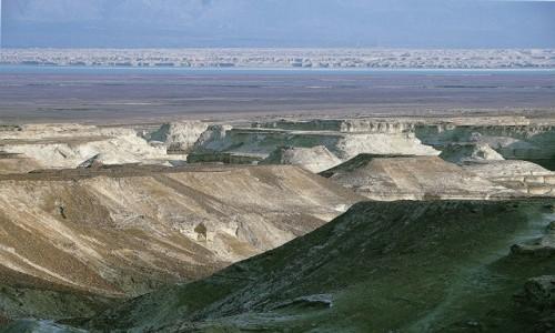 Zdjęcie IZRAEL / Morze Martwe / Masada / Widok z twierdzy
