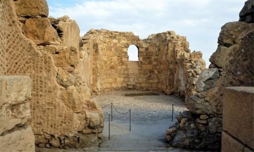 Zdjęcie IZRAEL / Morze Martwe / Masada / Ruiny świątyni