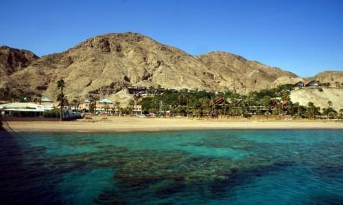 Zdjęcie IZRAEL / Eilat / Marine Park / Dwa błękity